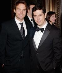 Will Forte and Chris Parnell at the Gala Benefit for Museum of Natural History.