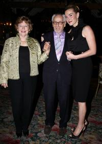 Anne Jackson, Eli Wallach and Kate Winslet at the Neighborhood Playhouse School of the Theatre 80th Anniversary Gala and Reunion.