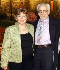Anne Jackson and Eli Wallach at the Neighborhood Playhouse School of the Theatre 80th Anniversary Gala and Reunion.