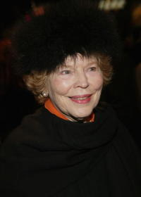 Anne Jackson at the Broadway opening of