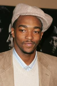 Anthony Mackie at the screening of
