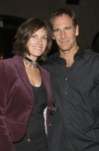 Scott Bakula and Chelsea Field at the