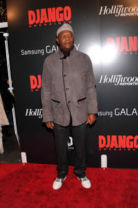 Samuel L. Jackson at the New York premiere of