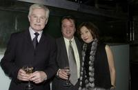 Derek Jacobi, Joseph and his wife at the Sydney premiere of