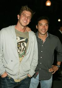 Kenny Johnson and Benito Martinez at the Season Four Premiere Screening of