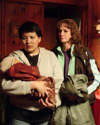 Misty Upham as Lila and Melissa Leo as Ray in