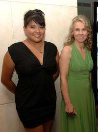 Misty Upham and Director Courtney Hunt at the premiere of