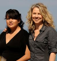 Misty Upham and Director Courtney Hunt at the photocall of