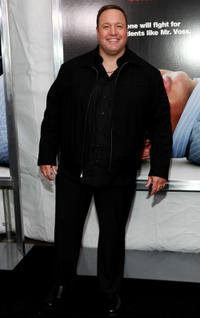 Kevin James at the New York premiere of