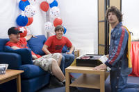 Danny McBride, Jorma Taccone and Andy Samberg in