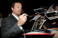 Adam Baldwin signs autographs at the Premiere of