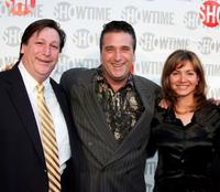 Olan Horne, Daniel Baldwin and Isabella Hofmann at the premiere of