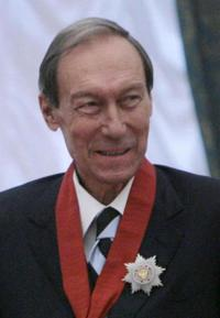 Oleg Yankovsky at the ceremony in Moscow.