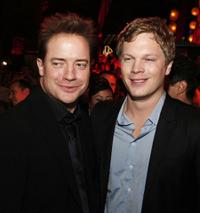 Brendan Fraser and Luke Ford at the after party of the premiere of