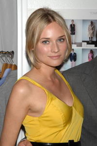 Diane Kruger at the Tommy Hilfiger Collection 2008 Fashion Show in N.Y.
