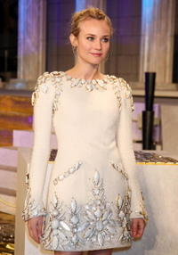 Actress Diane Kruger at the Japan premiere of