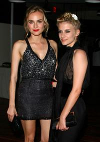 Diane Kruger and Melanie Laurent at the after party of the Cinema Society & Hugo Boss screening of