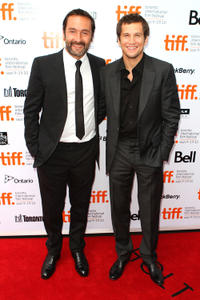 Gilles Lellouche and director Guillaume Canet at the premiere of