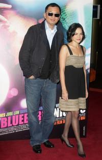 Director Kar Wai Wong and Norah Jones at the premiere of