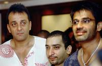 Sanjay Dutt, Hamed Saberi and Sunil Shetty at the announcement of