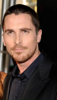 Christian Bale at the world premiere of