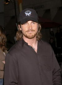 Christian Bale at a screening of