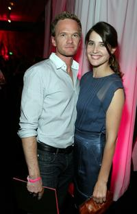 Neil Patrick Harris and Cobie Smulders at the after party of Victoria's Secret Fashion Show.
