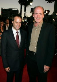 Richard Jenkins and Jeff Skoll at the Hollywood premiere of