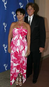 Kris Jenner and Bruce Jenner at the 56th Annual LA Area Emmy Awards.