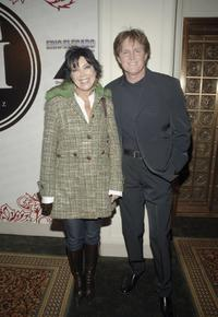 Kris Jenner and Bruce Jenner at the Luxe Wear Fall/Winter Fashion Show.