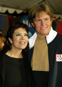 Bruce Jenner and his Wife at the premiere of