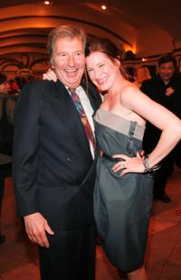Director Bob Shaye and Kathryn Hahn at the premiere of