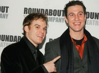 Michael C.Hall and Pablo Schreiber at the after party of the Broadway opening of