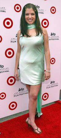 Anna Kendrick at the premiere of
