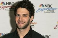 Justin Bartha at the autograph signing at NBC Experience Store.