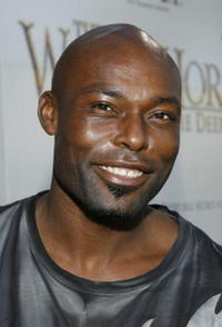 Jimmy Jean-Louis at the Hollywood premiere of