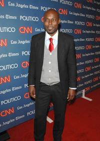 Jimmy Jean-Louis at the CNN LA Times POLITICO Democratic Debate After Party.