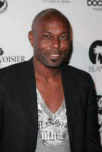 Jimmy Jean-Louis at the So So Def/Island Records Annual Pre-Grammy Party.