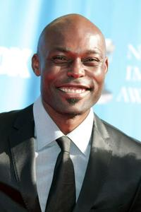 Jimmy Jean-Louis at the 39th NAACP Image Awards.