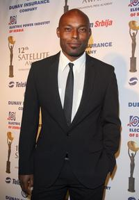Jimmy Jean-Louis at the 12th Satellite Awards.