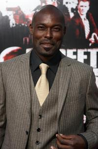Jimmy Jean-Louis at the premiere of
