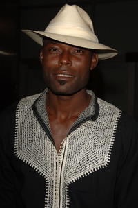 Jimmy Jean-Louis at the L.A. premiere of