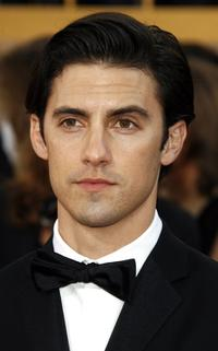 Milo Ventimiglia at the 64th Annual Golden Globe Awards.