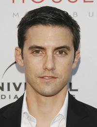 Milo Ventimiglia at the Universal Media Studios Emmy Party.
