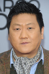 Benedict Wong at the New York series premiere of