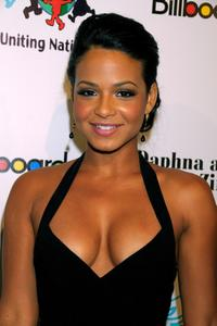 Christina Milian at the Children Uniting Nations' 9th annual awards celebration and viewing dinner.