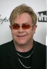 Elton John at the 17th Annual Elton John AIDS Foundation's Academy Awards Viewing Party.
