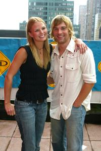 Jennifer Morrison and Mike Vogel at the release of