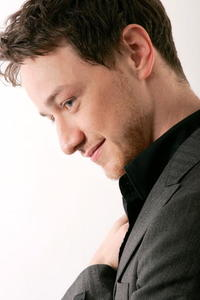 James McAvoy at a portrait session for