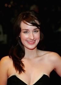 Ashley Johnson at the UK premiere of